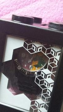 鬼滅の刃☆腕時計☆黒☆アミューズ☆非売品☆