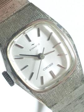 12602/SEIKOセイコーヴィンテージタイプの機械式レディース腕時計アンティーク
