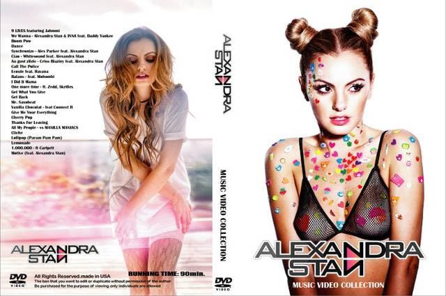 最新2017! ALEXANDRA STAN プロモ集 PVMV アレクサンドラスタン  < CD/DVD/ビデオの