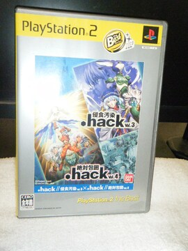 .hack// Vol.3×Vol.4(PS2用)