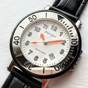pierre cardin ESPER SPORTS 紳士用 腕時計 ベゼル径 約40�_