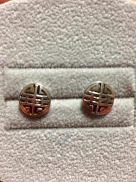 silver925 アジアンピアス