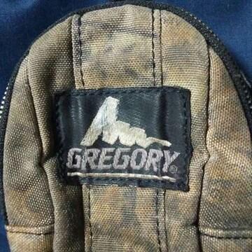 ■GREGORY■ 旧ロゴ グレゴリーマルチケース・used 枯れ葉カラー