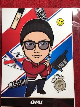 三代目JSB 登坂広臣ビックポップカード