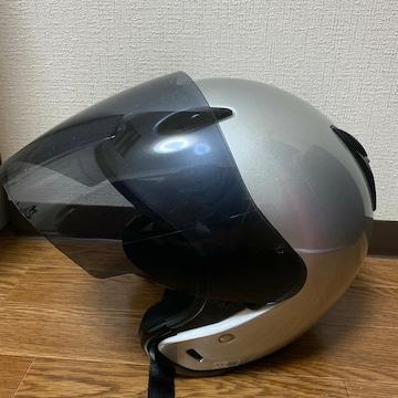 ZENITHヘルメットMサイズ YJ-5 シルバー