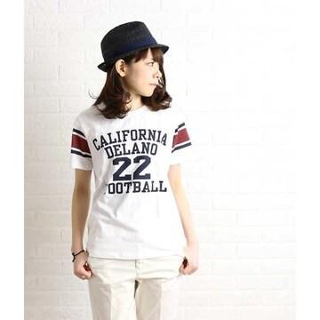 Champion☆フットボールTシャツ ホワイトM