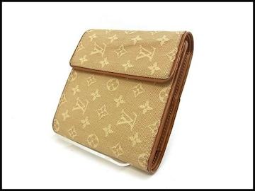 ルイヴィトン モノグラムミニ 三つ折り財布 M92241