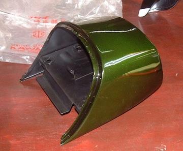 マッハ�V 500SS H1D H1E バックレスト・C/ライム 絶版新品