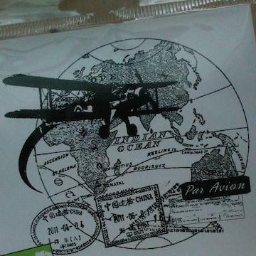 海外輸入パラビオンPar Avion航空便Travel Collageスタンプ