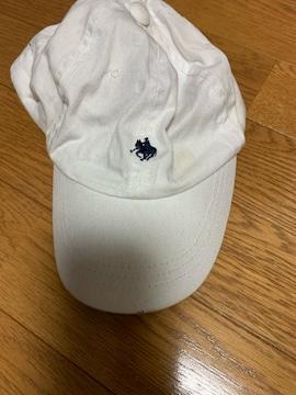 polo Ralph Lauren★白キッズ帽子3〜5才