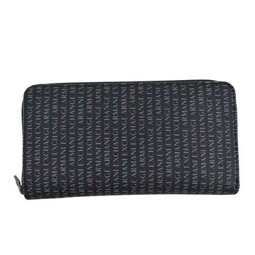 ◆新品本物◆アルマーニエクスチェンジ ラウンド長財布(NV)『958055 CC230』 ◆
