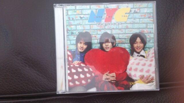 NYC「よく遊びよく学べ」初回DVD付/Hey!Say!JUMP  < タレントグッズの
