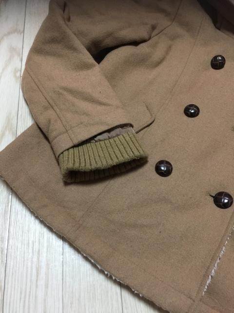 H185/リップスター/ベージュ/帽子付き/アウター/ < 女性ファッションの