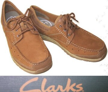 クラークス新品CLARKSカジュアル デッキ シューズ63627us10