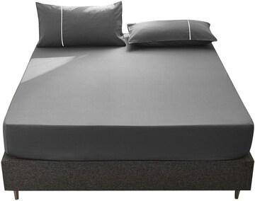 ボックスシーツ ベッドカバー ファミリー 周囲ゴムフィット式 綿