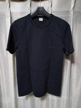 BUCO ブコ リアルマッコイズ 無地 半袖Tシャツ 36 Sサイズ 黒 ブラック 日本製RRL