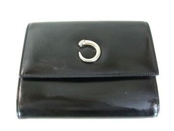 カルティエ 財布 ブラック
