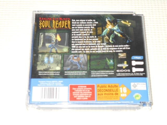 DC★LEGACY OF KAIN SOUL REAVER 海外版 < ゲーム本体/ソフトの