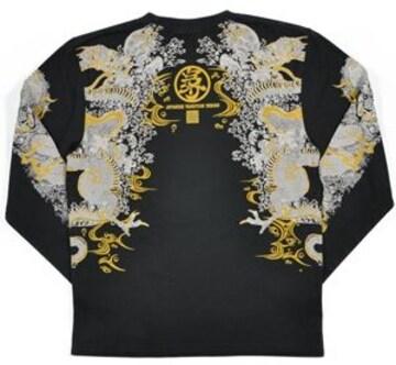 新作/爆裂爛漫娘/ロンT/龍/XL/RMLT-249/エフ商会/テッドマン/カミナリ雷