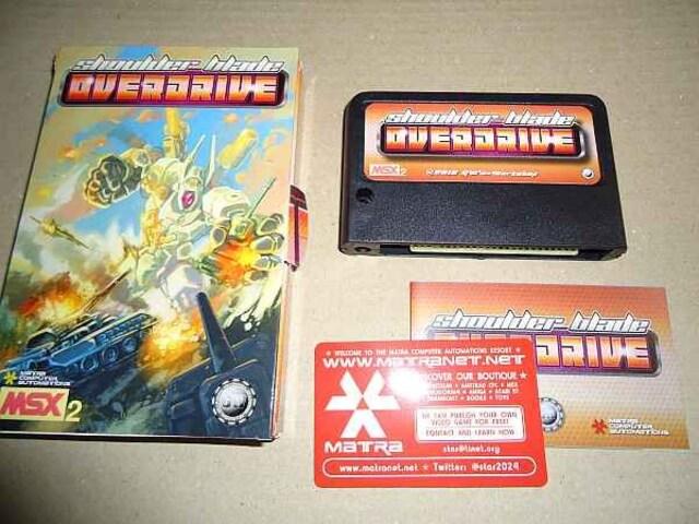 MSX Shoulder Blade OVERDRIVE  < ゲーム本体/ソフトの