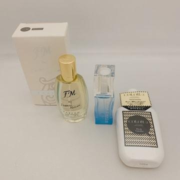 新品 香水、オードトワレ、ボディーミスト3点セット