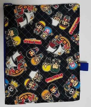 ZS36 ★ワンピース 防災頭巾(^^)頭巾 兼用 座布団カバータイプ ハンドメイド