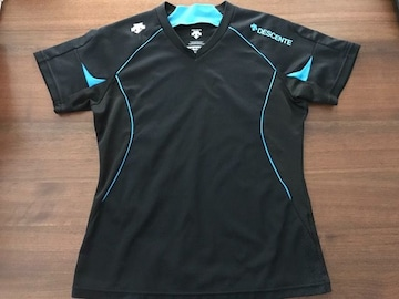 デサント★DESCENTE Tシャツ プラクティスシャツ 黒 L
