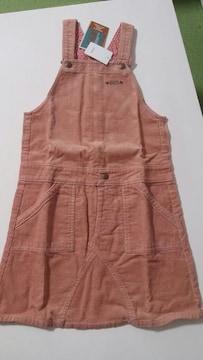 【新品タグ付】BeBe 140�pジャンパースカート