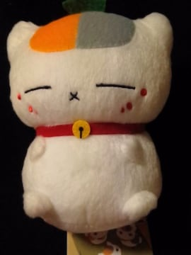 ■夏目友人帳■カバンに付けられるぬいぐるみ〜トリプルニャンコ先生〜■
