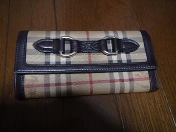 BURBERRYの長財布レディース用!。