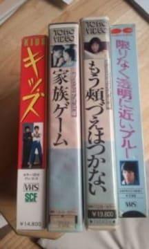 VHSビデオテープ松田優作