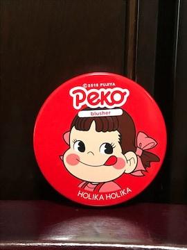 ホリカホリカ韓国コスメ ペコちゃんリップ&チーク チェリー美品