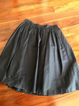ふんわりスカート ひざ丈 スカート