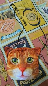 猫顔 ポシェット