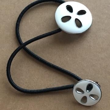 ビバユー ボタン ヘアゴム