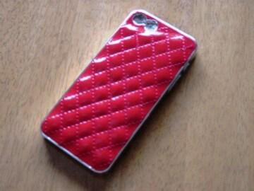 NEW!・大人気!!GLOSSYエナメルカバー(iPhone5対応)RED