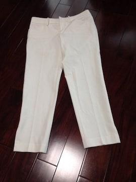 アバハウス新品同様白パンツサイズ(1)定価16800円前後