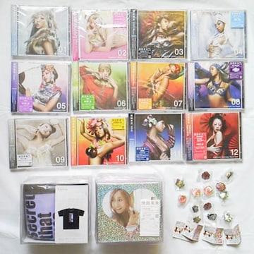 【レア】倖田來未CD&DVD&グッズ58点&直筆サイン入りポスター&掛け軸カレンダー