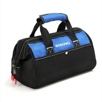 WORKPRO ツールバッグ 工具差し入れ 道具袋 工具バッグ 大口収納