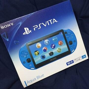 新品 PSVITA 2000シリーズ ブルー