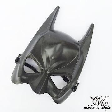 ヒップホップ ダンス マスク お面 バットマン 黒 ブラック 273