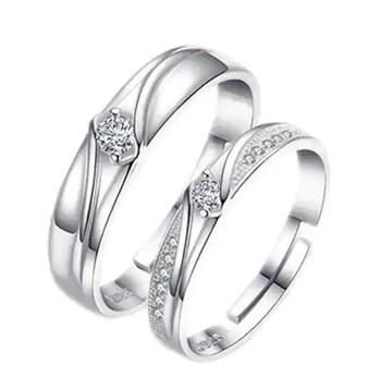 衝撃価格690円★恋人や友達に最高のプレゼント ペア指輪