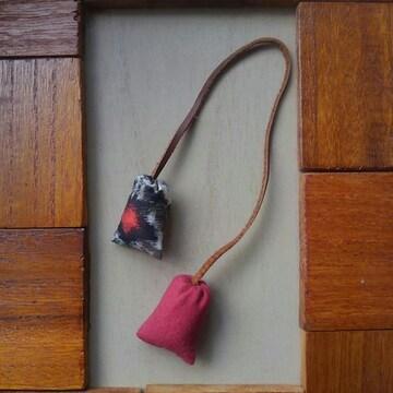 バッグチャーム(手作り・手縫い)