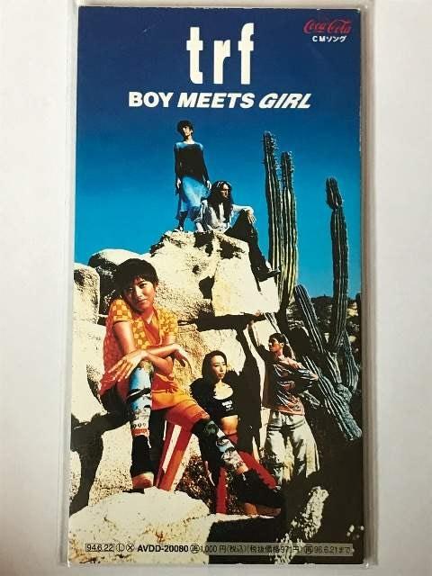 trf / BOY MEETS GIRL  < タレントグッズの