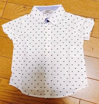 MЯ】�@正規品アルマーニBABY半袖シャツ 6Mサイズ