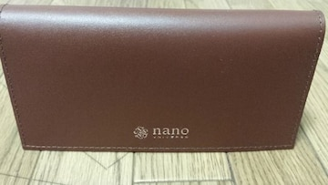 超激安 正規品 未使用 ナノ・ユニバース オリジナル 札入れ