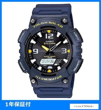 新品 即買い■カシオ ソーラー 腕時計 AQS810W-2A