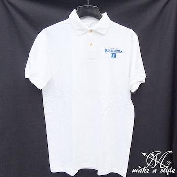 Duke デューク ブルーデビルズ ポロシャツ 半袖 白 424 XL