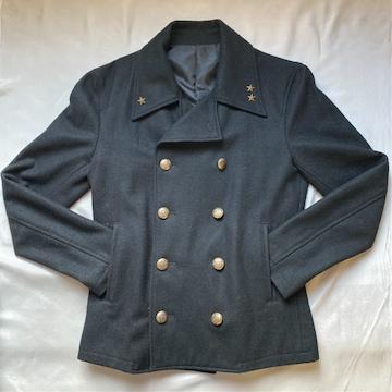 casva スタッズ付Pコート 黒 Mサイズ ジャケット 細身 ロック系