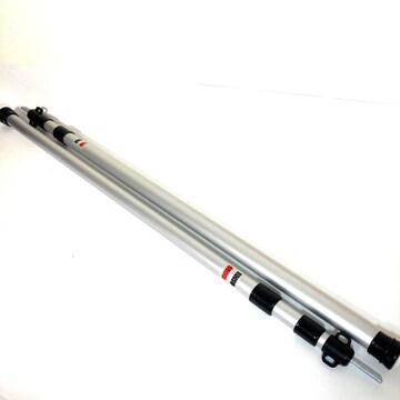 テントポール 2本セット 伸縮 90-230cm スライド GEJ-TPS